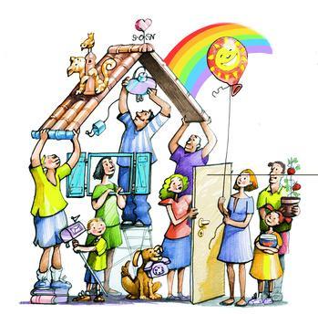 Risultati immagini per co housing sociale